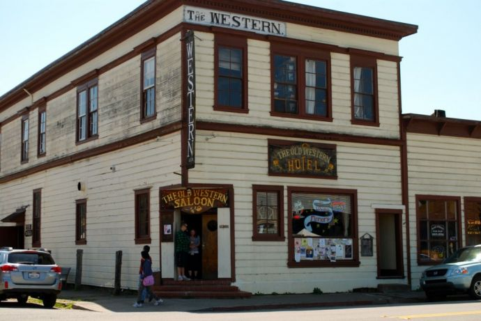 West Marin The Old Saloon