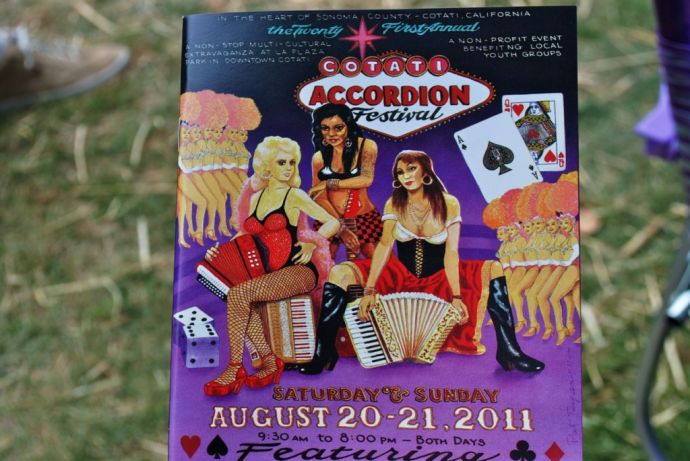 Accordion Playbill