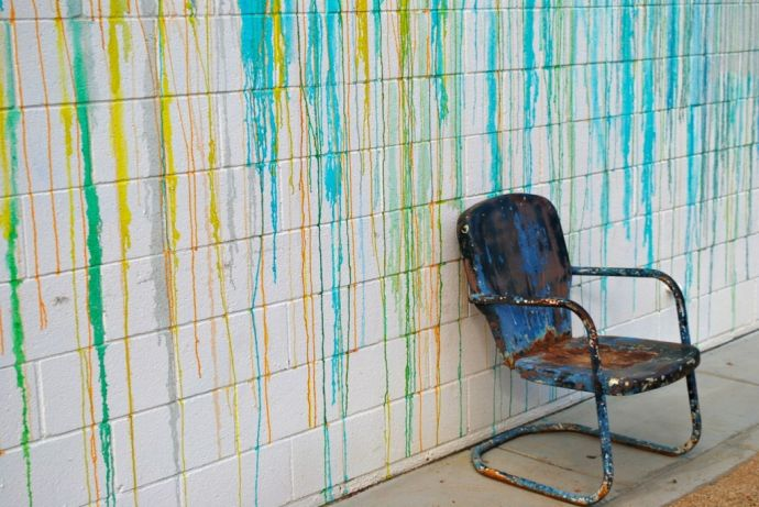 Chair Painted Wall