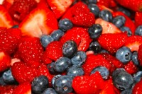 Raspberries-Strawberries-Blueberries